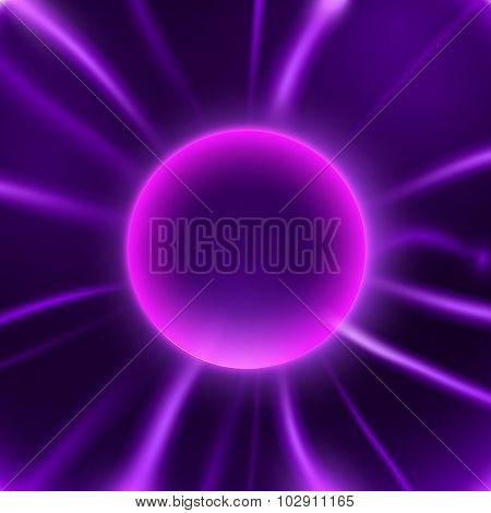 vector lightning sphere
