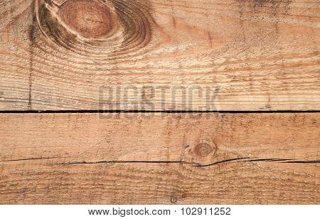 Natural Uncolored Wooden Wall Texture, Closeup
