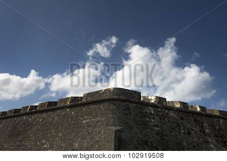 Medieval Impenetrable Castle Wall