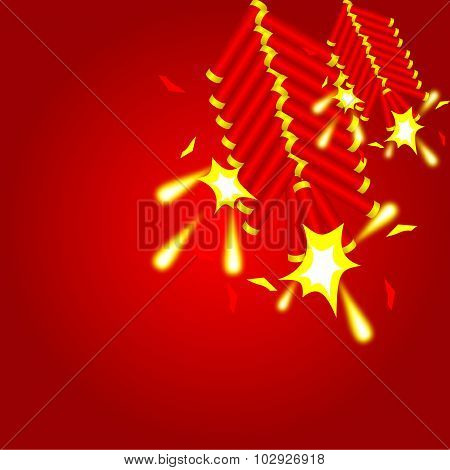 Chinese Cracker Background