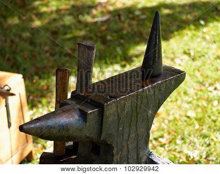 Old Rusty Rugged Anvil