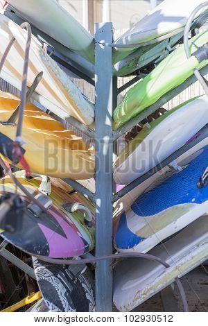 Windsurf Boards Background