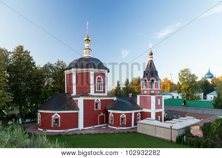 Church of the Assumption of the Blessed Virgin Mary in Suzdal.
