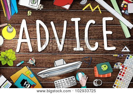 Advice Advisor Consultant Support Assistance Concept