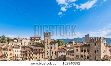 Piazza Of Arezzo