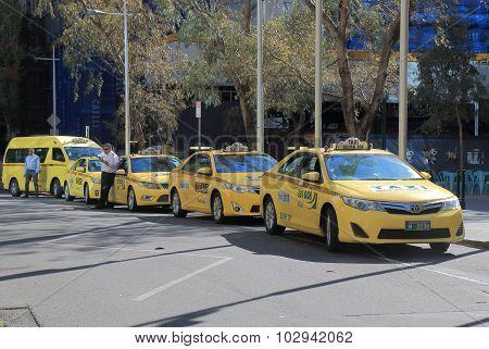 Taxi cab Melbourne Australia