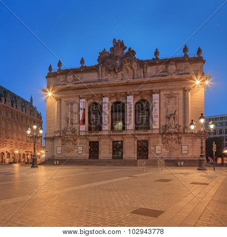 Opera house in Lille - France