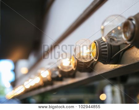 Lights Decoration  Theme park outdoor