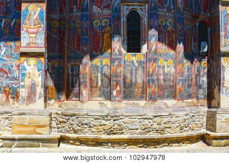 The Moldovita Monastery, Romania