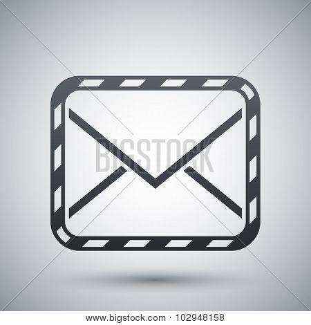 Vector Sealed Envelope Icon