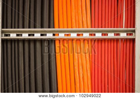Colorful Of Cable Wire