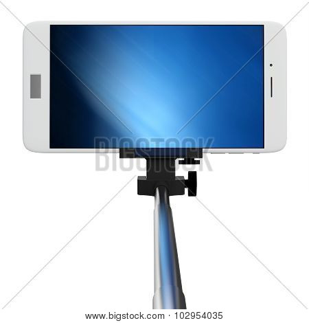 3D Selfie Stick With Smartphone