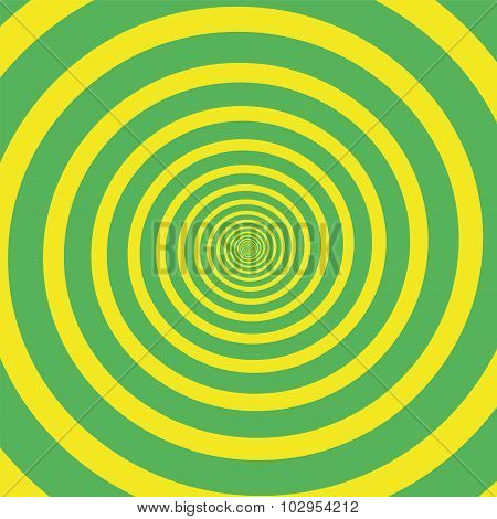 Green Yellow Spiral