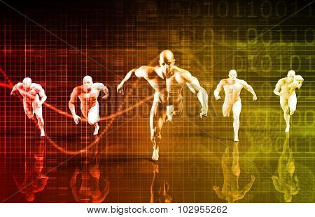 Personal Development Science and Coaching Service Concept