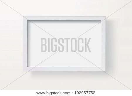 Blank Picture Frame Vector Eps8