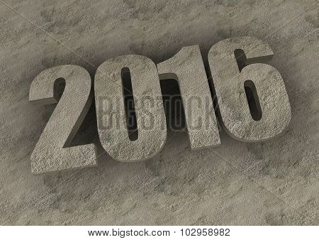 New Year 2016 Text