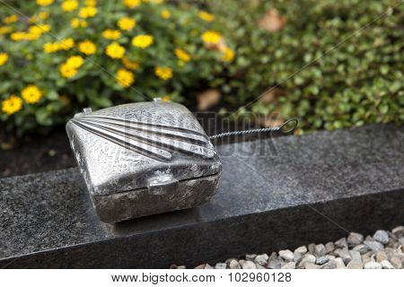 Holy Water Shell At The Grave