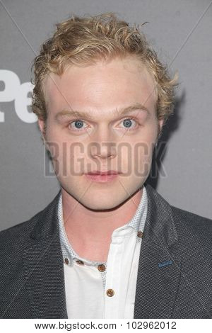 LOS ANGELES - SEP 26:  Joe Adler at the TGIT 2015 Premiere Event Red Carpet at the Gracias Madre on September 26, 2015 in Los Angeles, CA