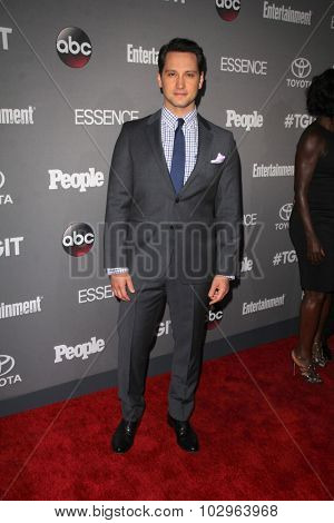 LOS ANGELES - SEP 26:  Matt McGorry at the TGIT 2015 Premiere Event Red Carpet at the Gracias Madre on September 26, 2015 in Los Angeles, CA