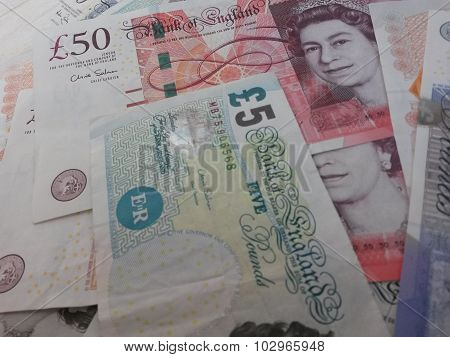 British Sterling Pounds