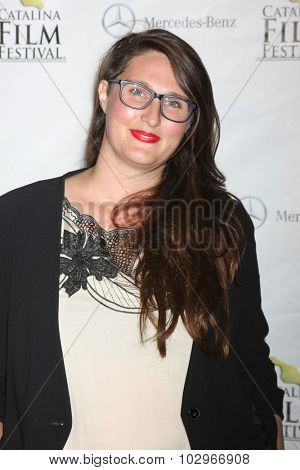 LOS ANGELES - SEP 25:  Alexis O. Korycinski at the Catalina Film Festival Friday Evening Gala at the Avalon Theater on September 25, 2015 in Avalon, CA