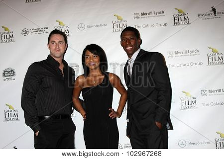 LOS ANGELES - SEP 25:  Filmmakera at the Catalina Film Festival Friday Evening Gala at the Avalon Theater on September 25, 2015 in Avalon, CA