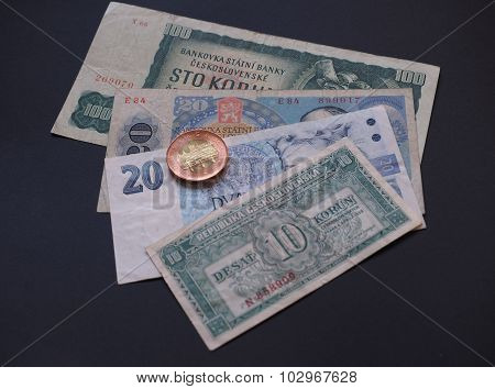 Czechoslovakia Money