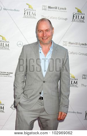 LOS ANGELES - SEP 25:  Richard Cousins at the Catalina Film Festival Friday Evening Gala at the Avalon Theater on September 25, 2015 in Avalon, CA