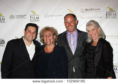 LOS ANGELES - SEP 25:  Ron Truppa, Blanny Avalon Hagenah at the Catalina Film Festival Friday Evening Gala at the Avalon Theater on September 25, 2015 in Avalon, CA