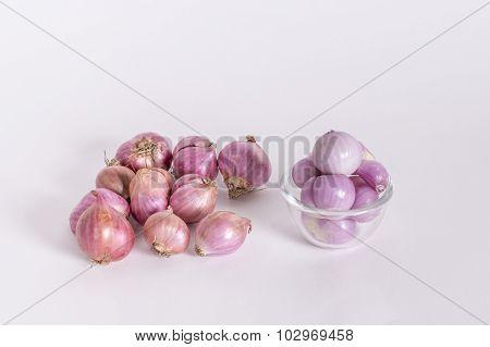 Peeled Shallots (Allium ascalonicum)