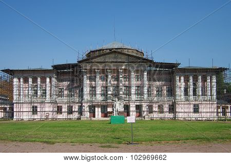 Moscow, Russia - September 25, 2015: The Ostankino Estate Museum