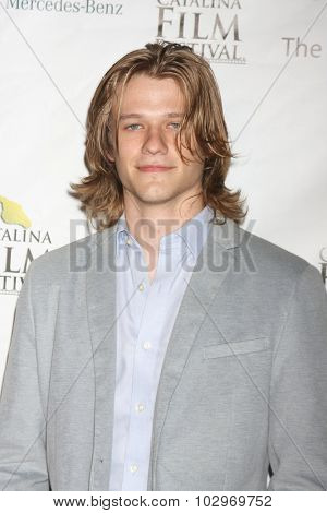 LOS ANGELES - SEP 25:  Lucas Till at the Catalina Film Festival Friday Evening Gala at the Avalon Theater on September 25, 2015 in Avalon, CA