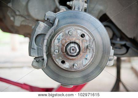 Maintenance Suspension Of Cars