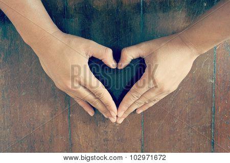 Hand Make Heart Shape