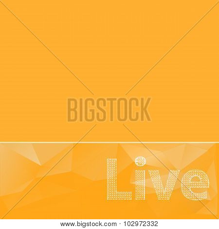 abstract background. Vector icons. Abstract Creative concept vector background