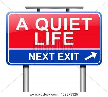 The Quiet Life.