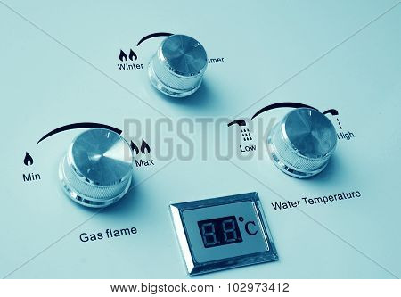 Gas Heater Control