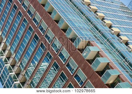 Windows and Reflections at an angle