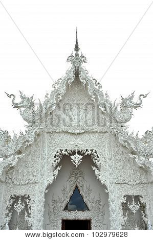 The Famous Temple Of Thailand, Wat Rong Khun (white Temple)
