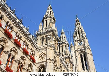 City Hall In Vienna
