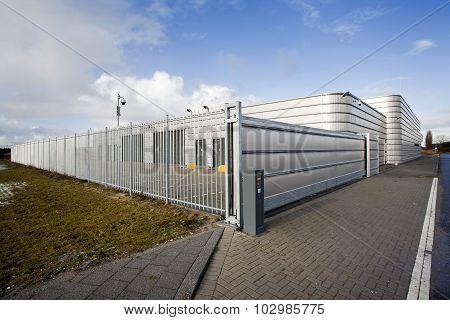 Secure Metal Industrial Building