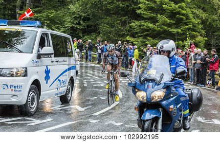 The Cyclist Christophe Riblon - Tour De France 2014