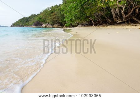 Clear Sea At Mu Ko Similan In Thailand