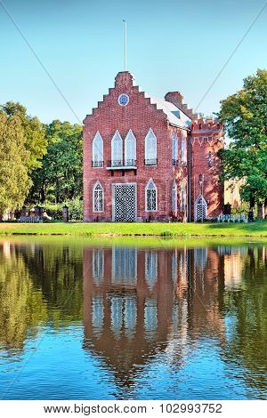 Tsarskoye Selo (Pushkin). Saint-Petersburg. Russia. The Admiralty Pavilion