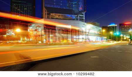 High-speed Vehicles On Urban Roads At Night