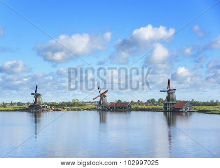 Wind mill of Netherland