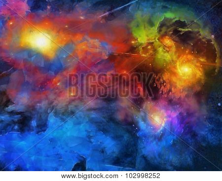 Deep Space Painting
