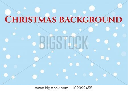 Abstract Christmas vector background. New Year 2016 holidays