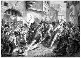 picture of corpses  - The corpse of Marshal Brune troll Rhone - JPG