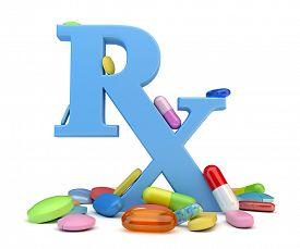 stock photo of prophylactic  - Prescription drugs - JPG